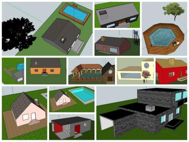 PROYECTOS DESTACADOS MODELACIÓN 3D UNIDAD 2 GRADO 8º 2014 Casa básica Elementos de ambiente de la galería 3D