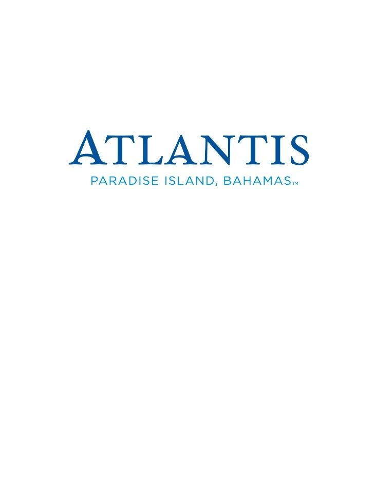 Destination Atlantis, Paradise Island – Kids Vacation Adventures