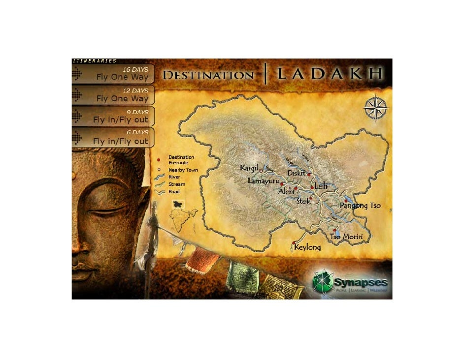 Contents        1.    About Ladakh              …3      2.    Itinerary                 …4      3.    Route map           ...