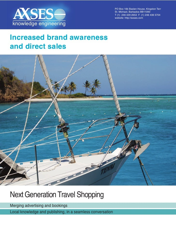 Next Generation Direct Travel Shopping
