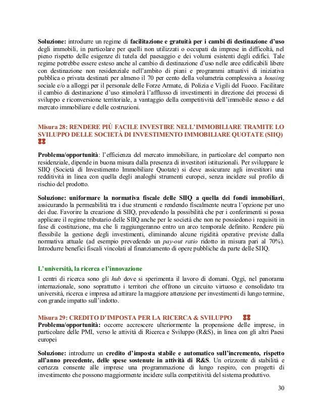 Destinazione italia - Destinazione d uso immobile ...
