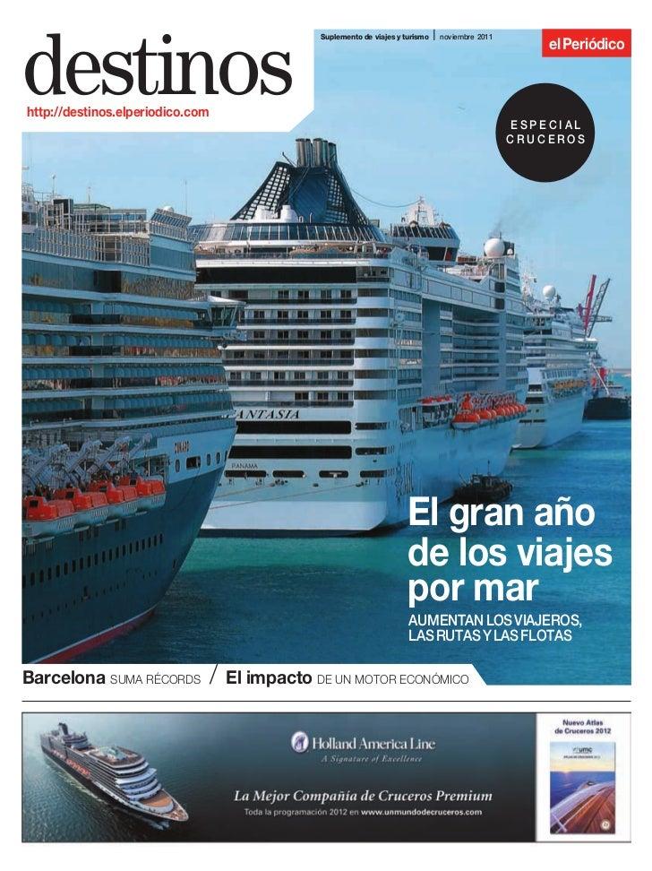 I noviembre 2011destinos                                                  Suplemento de viajes y turismo                  ...