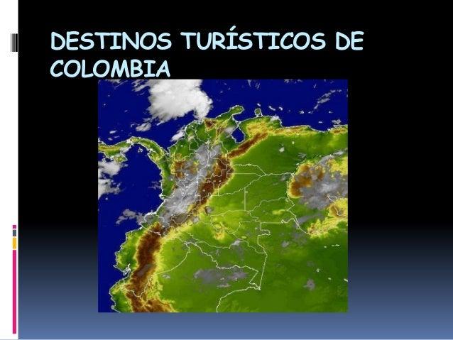 Destinos turísticos de colombia