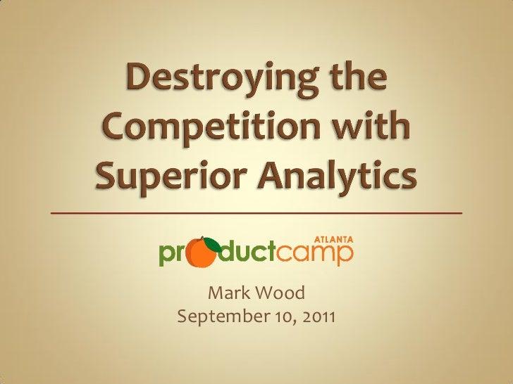 Mark WoodSeptember 10, 2011