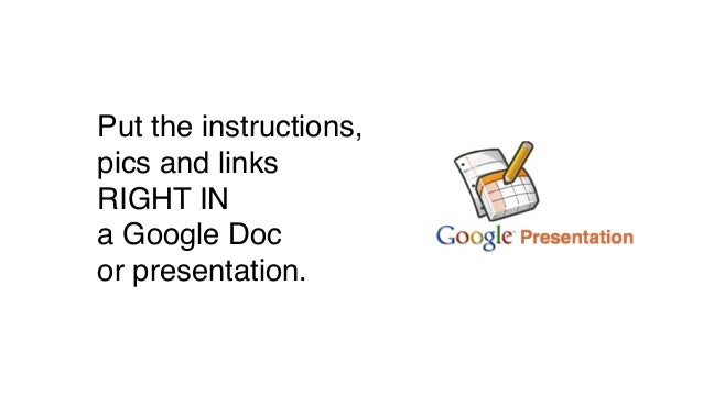 Destroy Notetaking with Google Preso and Frayer Models