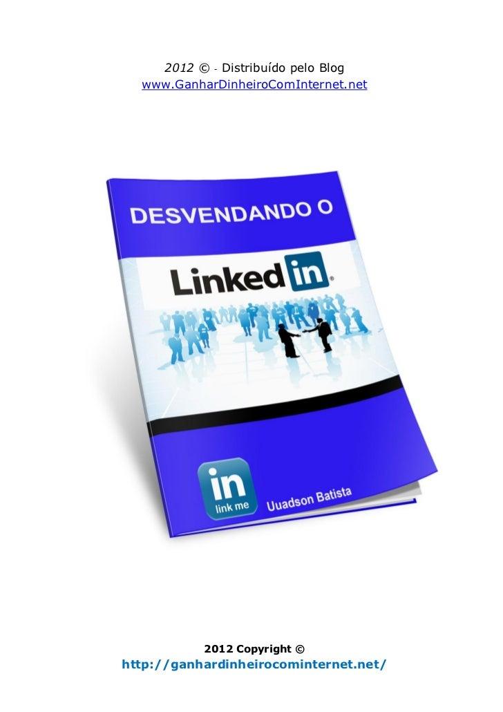 Ebook Desvendando o LinkedIn