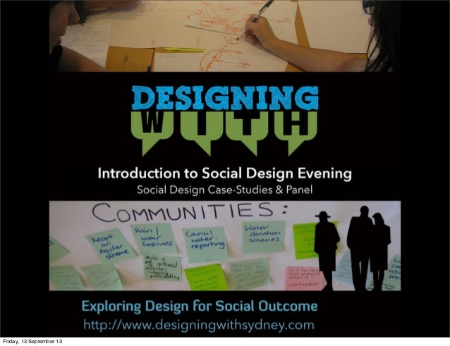 Introduction to Social Design Event - Opening Presentation