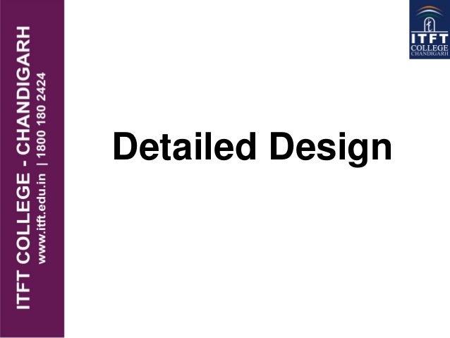 itft-Detail design