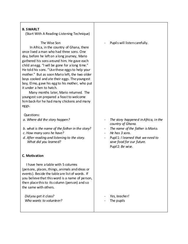 elementary detailed lesson plans in english nouns Search lesson plans our middle school english have the students work in teams to cut out both words and pictures that are classified as common nouns and.