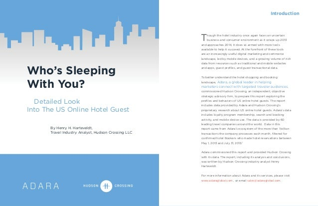 Introduction  T  hough the hotel industry once again faces an uncertain business and consumer environment as it wraps up 2...