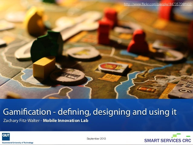 A detailed introduction to gamification - Brisbane Web Design Meetup