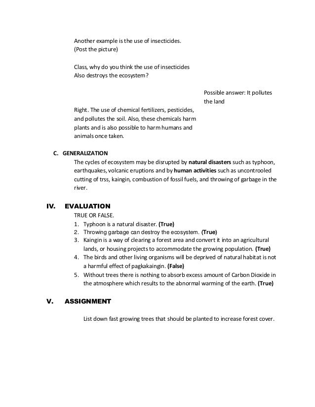 detailed lesson plan in science high school pdf