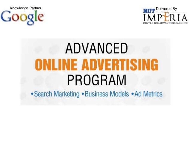 Advanced Program in Online Advertising - Google