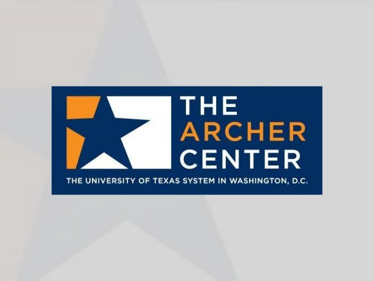 The Bill Archer Fellowship was established by The University of Texas Systemin conjunction with Former U.S. Representative...