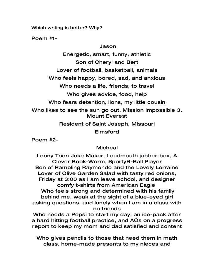 math worksheet : details to the auto bio poem : Bio Poem Template High School