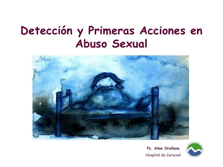 Deteccion Abuso Sexual