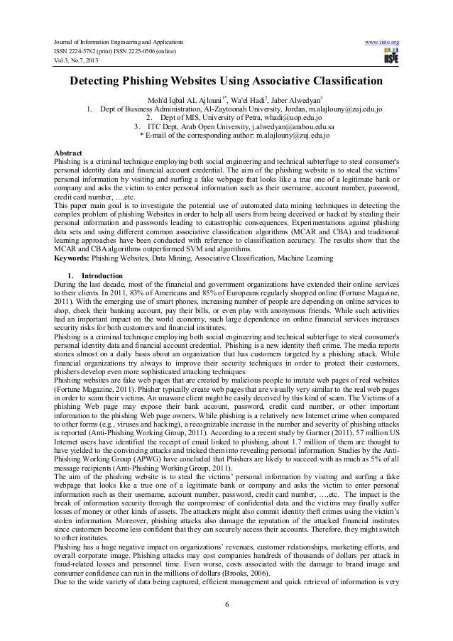 Detecting phishing websites using associative classification (2)