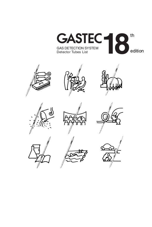 Gas Detector Tube List