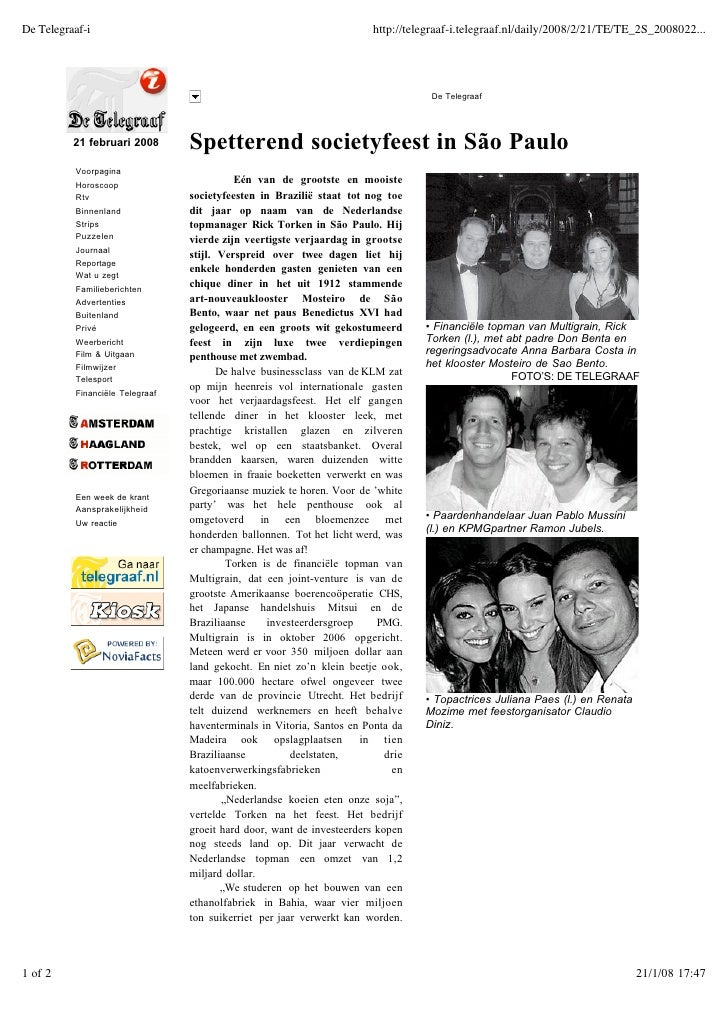De Telegraaf Newspaper