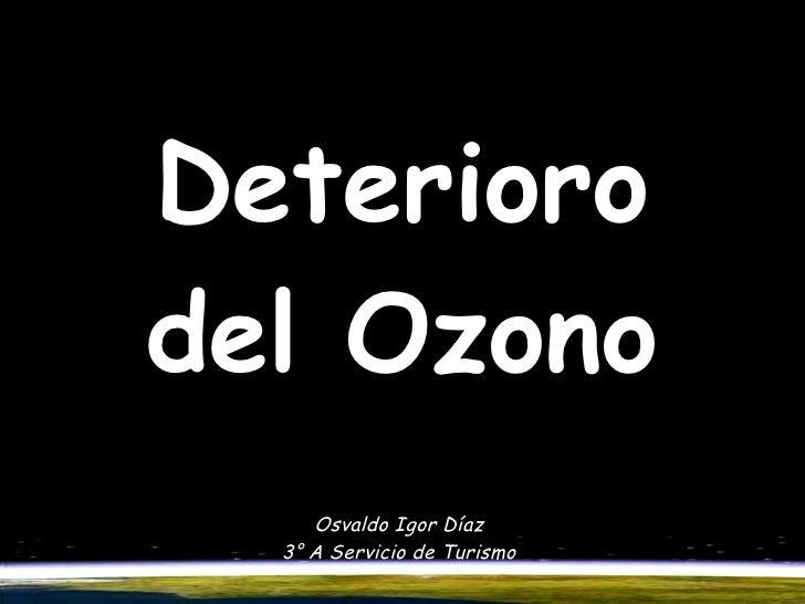 Deterioro Del Ozono Original