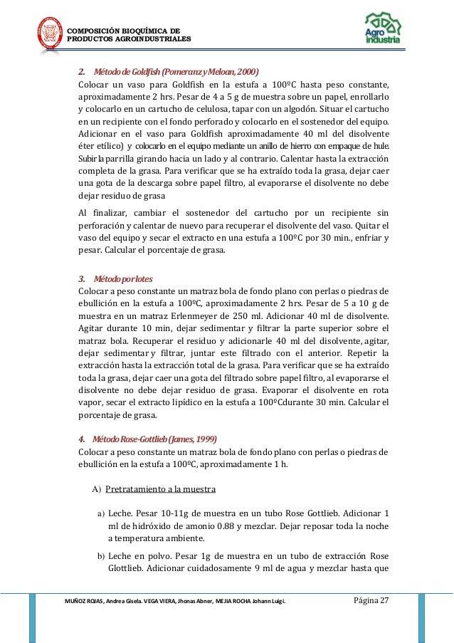 extracto etereo definicion pdf