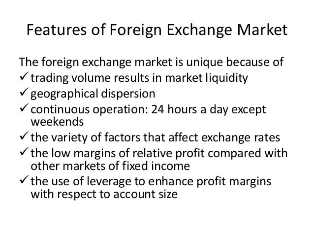 Functions of foreign exchange market
