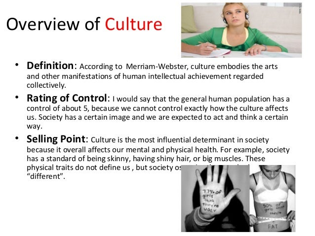 effect of our culture Whether it is our culture by birth or the culture of the new country what is culture and how does it affect our daily lives impact: this new.