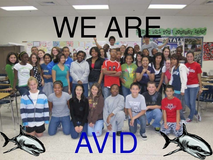 WE ARE<br />AVID<br />
