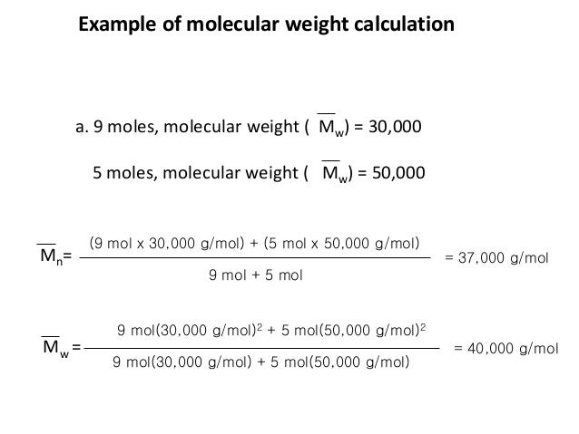 olecular weight lab report Accurate & professional molecular weight determination service of we offer our molecular wight we present the results in a pdf-report that is.