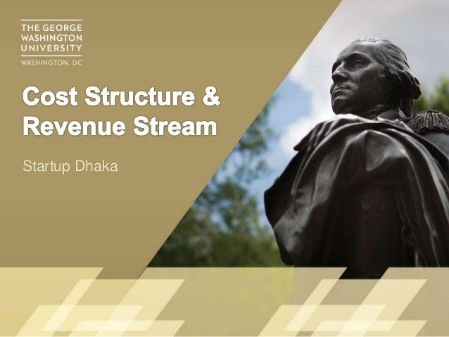 Determining cost structure & revenue streams