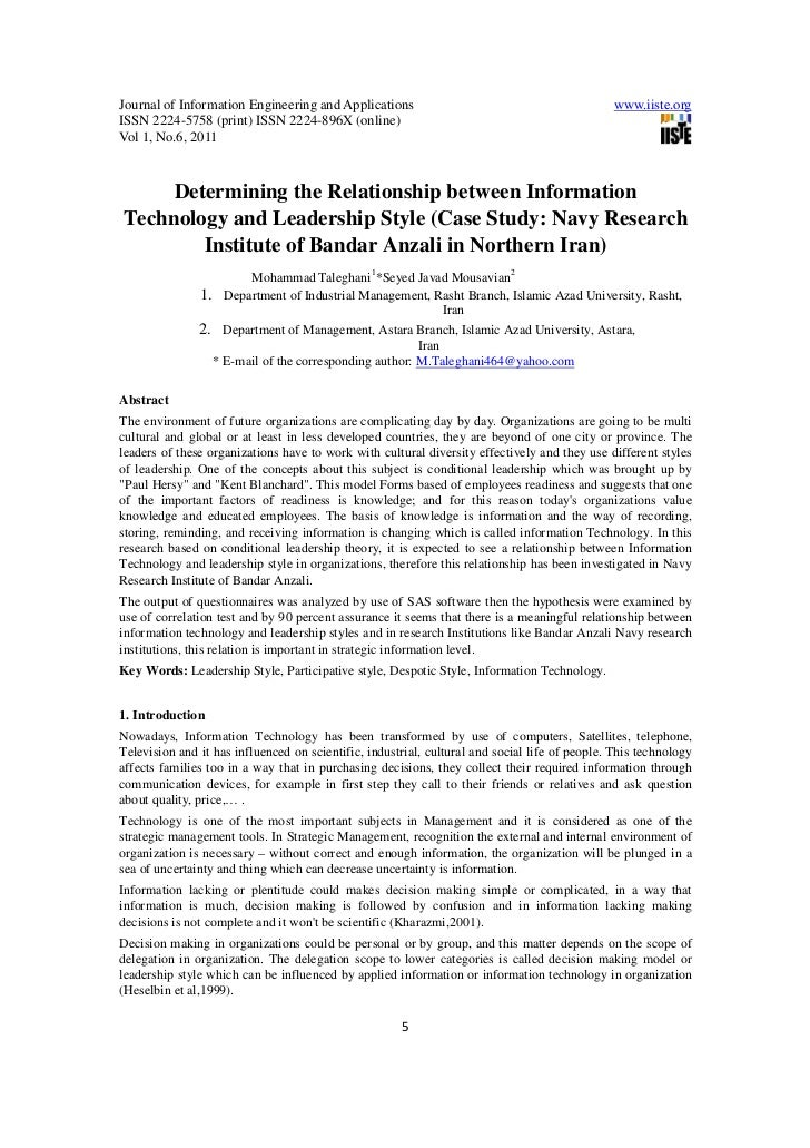 Journal of Information Engineering and Applications                                            www.iiste.orgISSN 2224-5758...