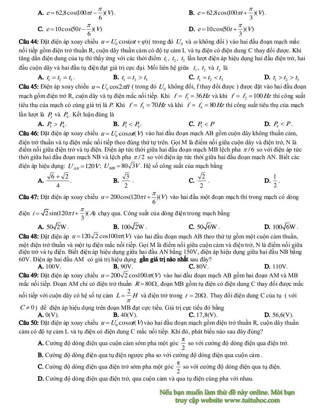 de thi thu vat ly trang 5