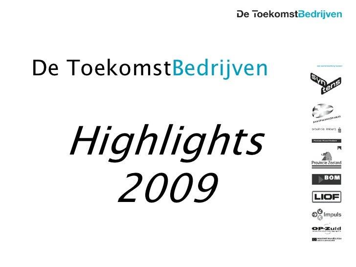 De ToekomstBedrijven 28-01-2010