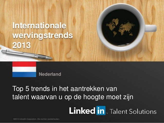 De top 5 Nederlandse trends in recruitment 2013