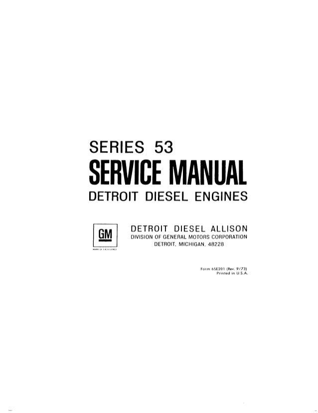 detroit diesel series 53 service manual pdf