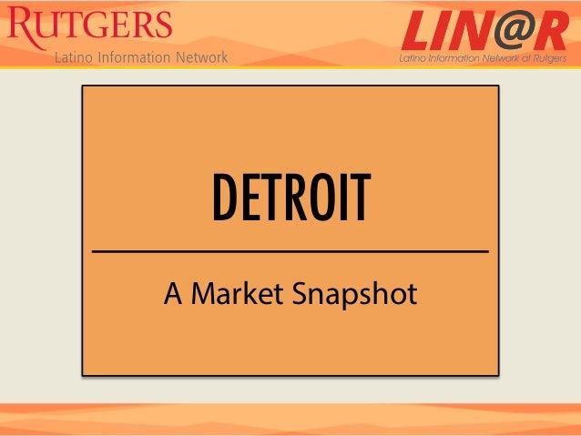 DETROITA Market Snapshot