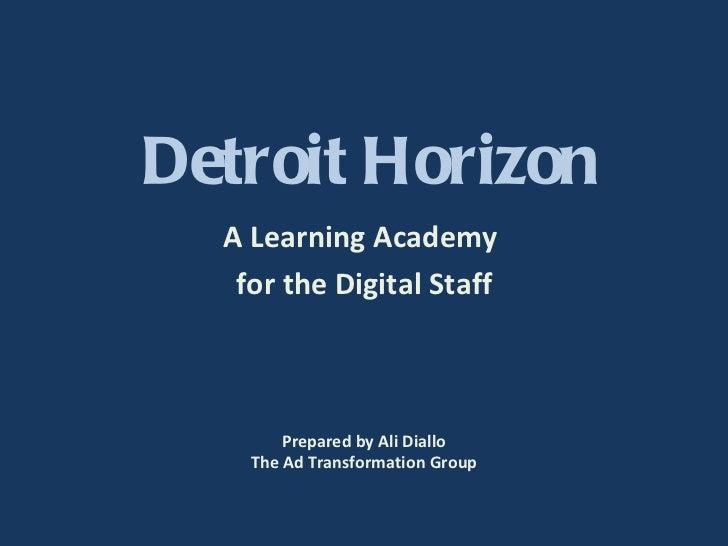 Detroit horizon