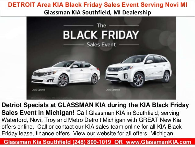 detroit area kia black friday sales event l near novi michigan. Black Bedroom Furniture Sets. Home Design Ideas