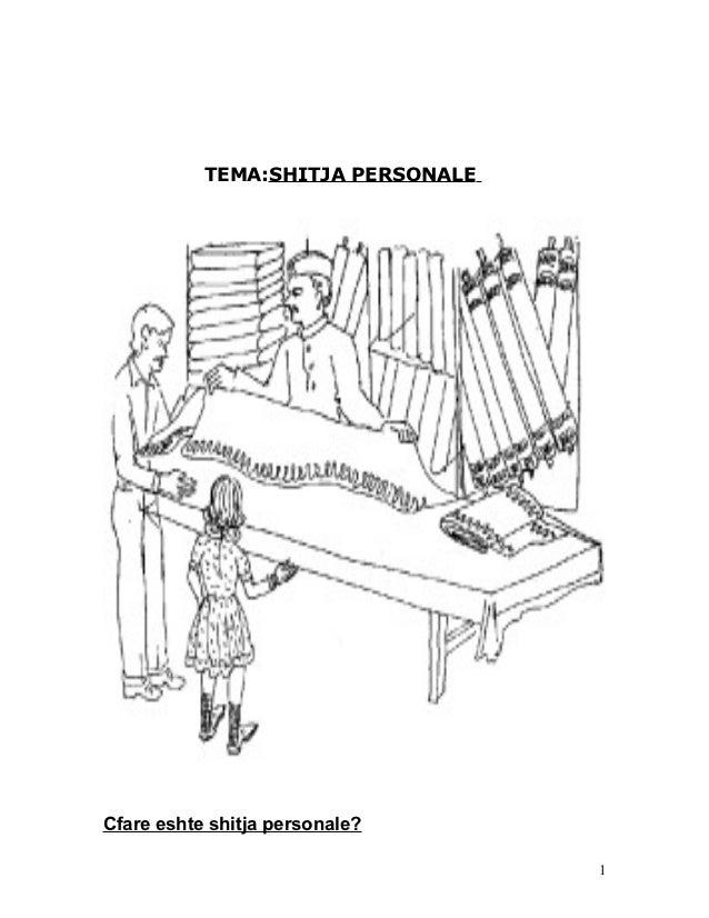 TEMA:SHITJA PERSONALECfare eshte shitja personale?                                   1
