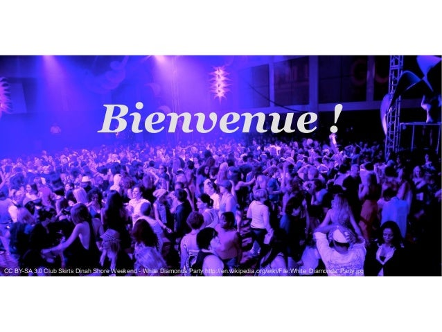 Bienvenue ! CC BY-SA 3.0 Club Skirts Dinah Shore Weekend - White Diamonds Party http://en.wikipedia.org/wiki/File:White_Di...