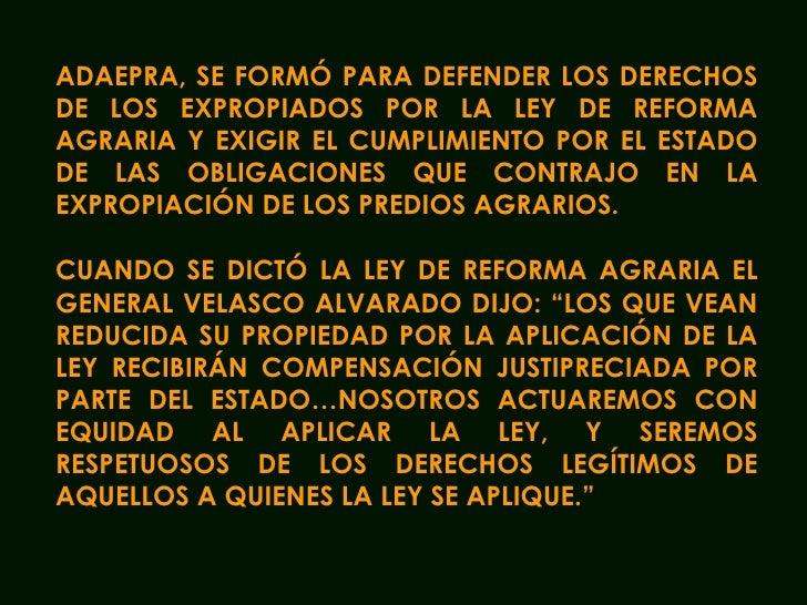 Raùl Noblecilla - Propuestas de solucion planteadas al Estado peruano
