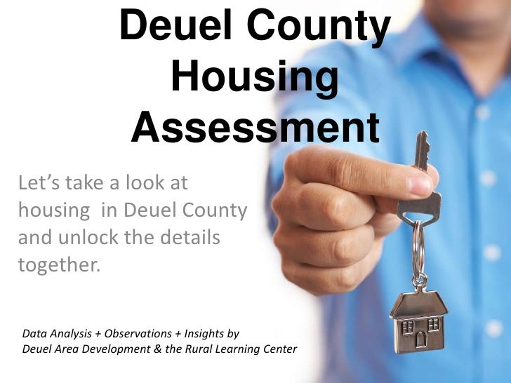 Deuel County Housing Assessment Updated Key Findings 1st