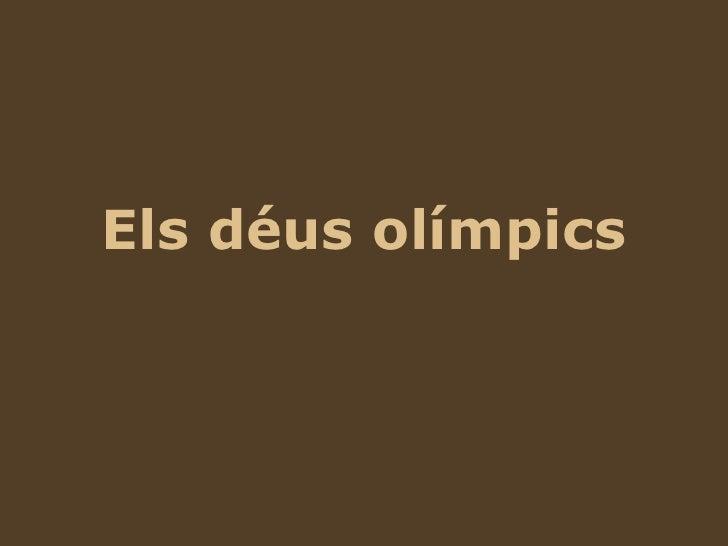 Deus Olimpics