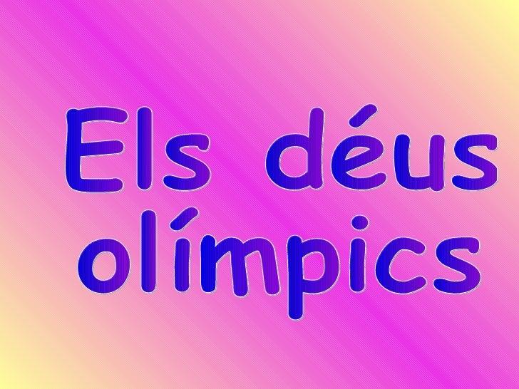 Els déus  olímpics
