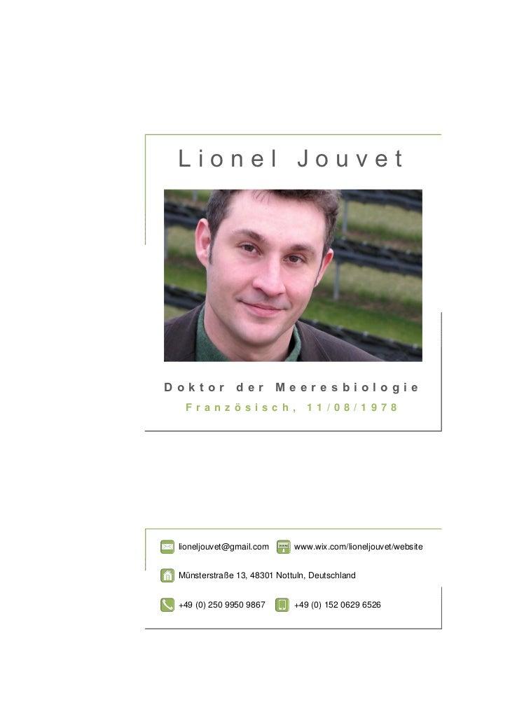 cover letter deutsch sample