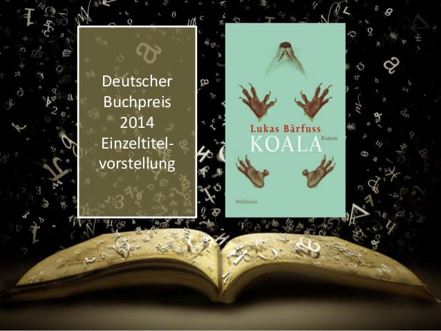 Deutscher Buchpreis 2014 Einzeltitel- vorstellung