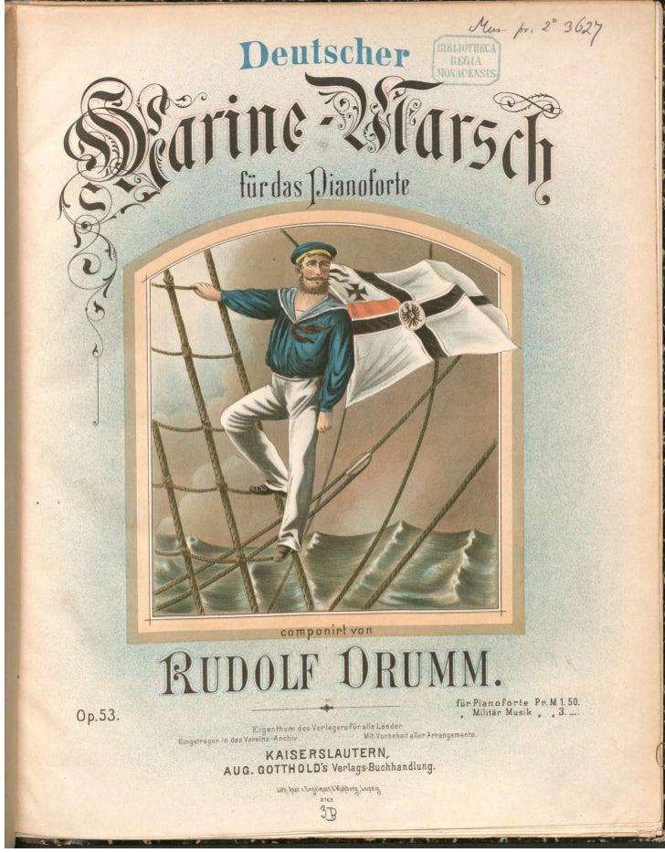 Deutscher marinemarsch