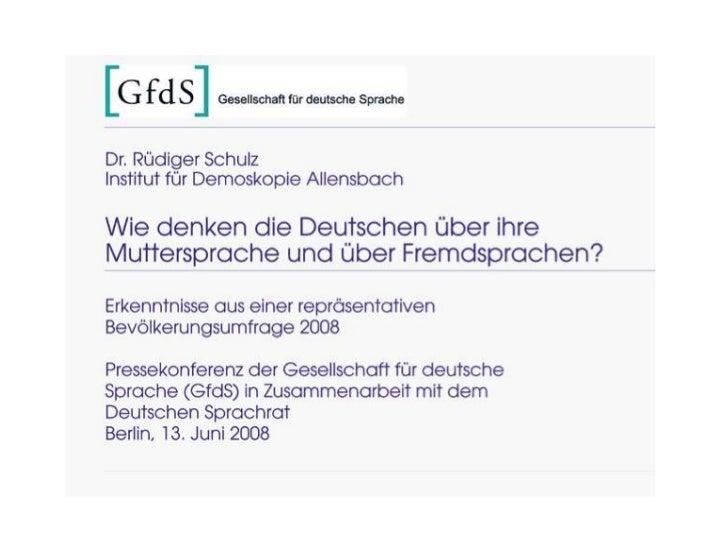 Deutschesprache
