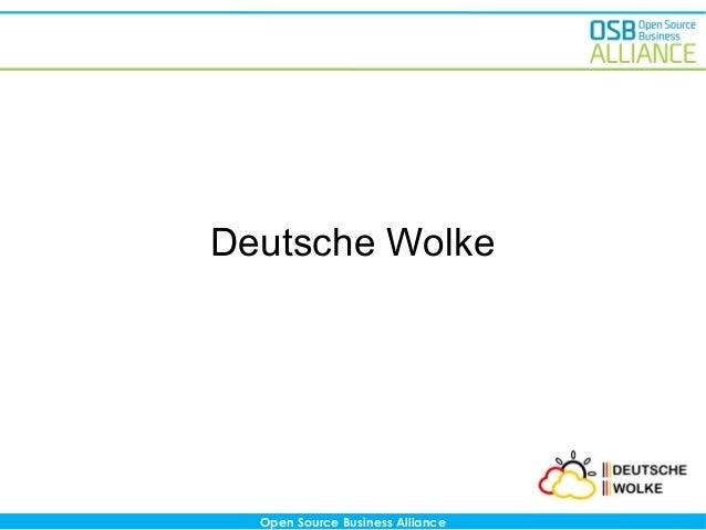 Deutsche Wolke  Open Source Business Alliance