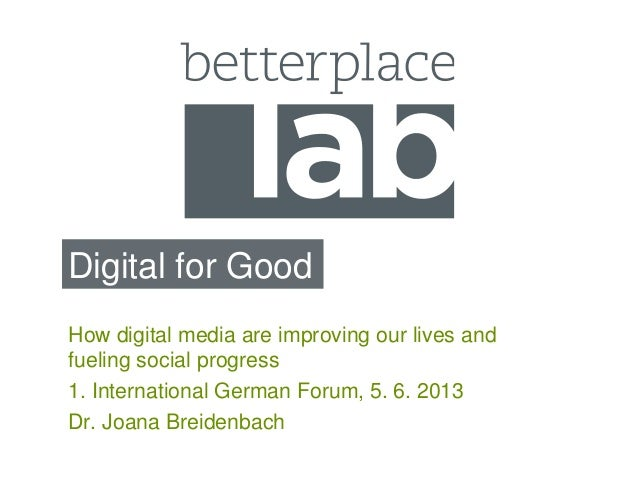 Digital for Good